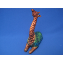 Afrika Giraffe Dekofigur Deko Tierfigur handbemalt