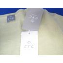 FTC Cashmere V-Ausschnitt Cardigan m. Knopfleiste - Kaschmir - Gr XL - GELB - NEU