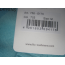 FTC Cashmere V-Ausschnitt Pullover - Kaschmir/Seacell - Gr M - Türkis - NEU