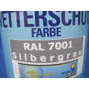 750ml Wetterschutzfarbe Grau Holzschutz Farbe Acryllack...