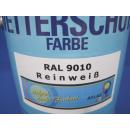 2500ml Wetterschutzfarbe Farbe Holzschutz RAL 9010...