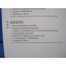Heizlüfter 2000 W 2-stufig 1,8m Kabel Schwarz