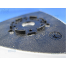 Delta Schleifscheibe Schleifplatte AVI 93 G - passend für div.Deltaschleifer