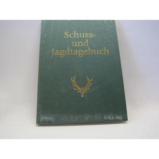 Schuss- und Jagdtagebuch Red. d. Jagdzeitschrift Wild und Hund - NEU