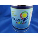 1 Liter Buntlack Kunstharz Farbe Lack RAL 9010 Reinweiß Weiss hochglänzend