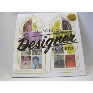 The Soul Of Designer Records (4CD) von Various Artists (2014)