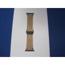 Narbenleder Armband Apple Watch 42mm - Sahara - Lederband - Decoded